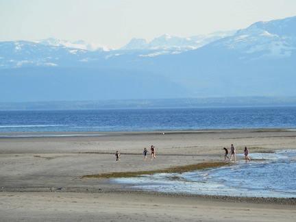 Cortes Island Beach